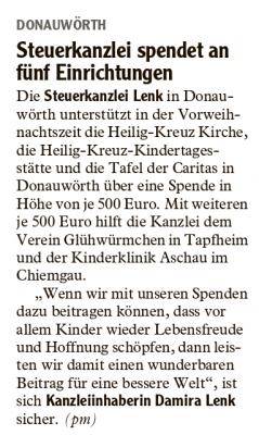 Kanzlei_Lenk_Vorweihnachts-Spenden-2014