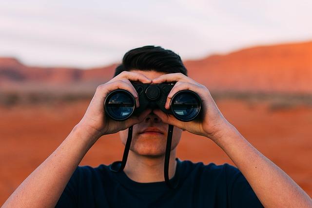 Blick in die Zukunft mit Perspektive